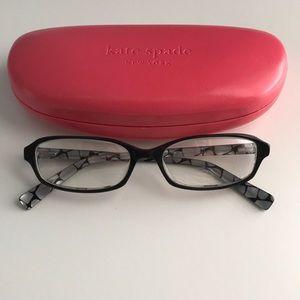 Kate Spade glasses w/ case